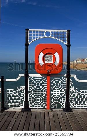 Pier in Brighton - stock photo
