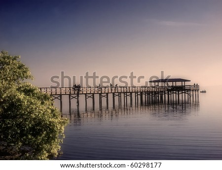 Pier in Safety Harbor, Florida