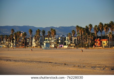 Pier on the West Coast America - stock photo