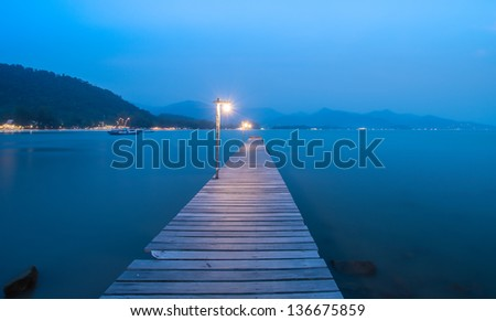 Pier over Waters