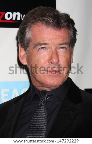 Pierce Brosnan arriving at the Peace over Violence 38th Annual Humanitarian Awards Beverly Hills Hotel Beverly Hills,  CA November 6, 2009