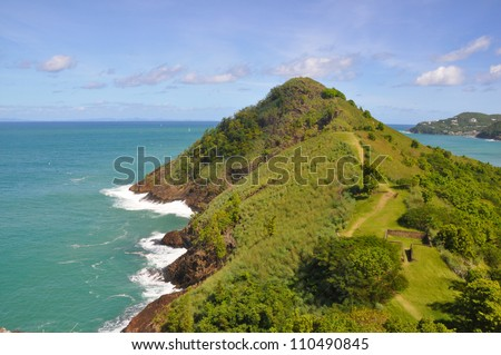 Pigeon Island in St Lucia