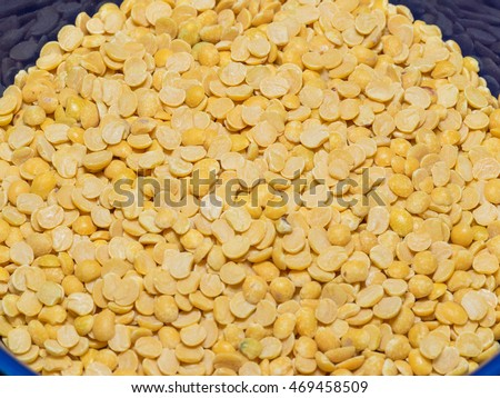 Pigeon pea (Cajanus cajan) is a perennial legume from the family Fabaceae.