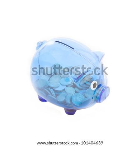 Piggy bank - stock photo