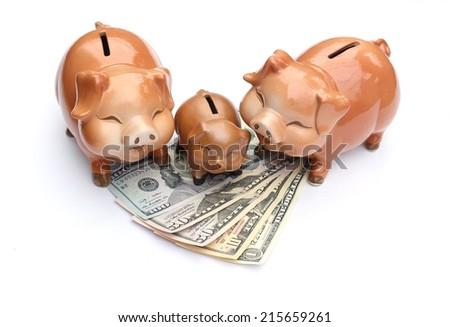 piggy-bank - stock photo