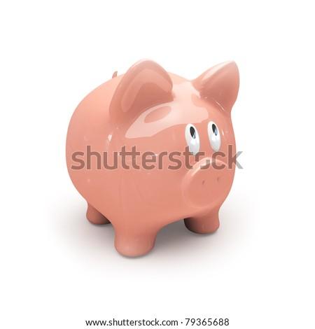 Piggy bank. - stock photo