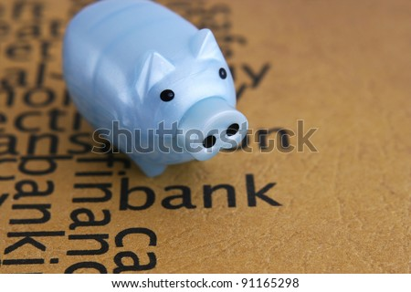 Piggy bank concept - stock photo