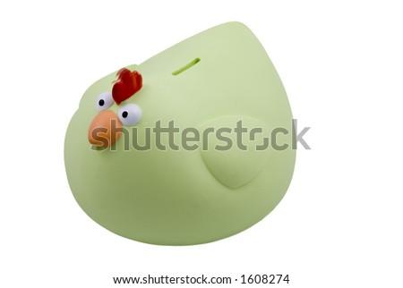 Piggy Bank (Hen) - stock photo