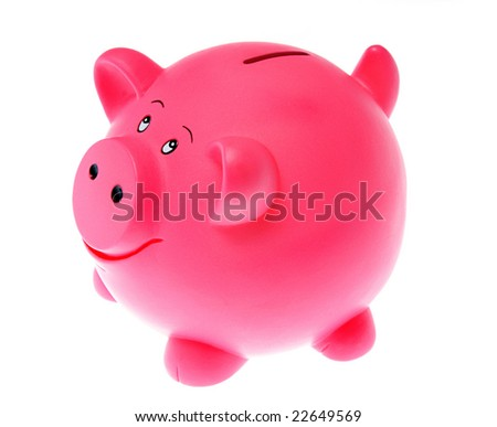 piggy-bank isolated on white background