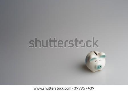 Piggy Bank, Pension, Savings. - stock photo