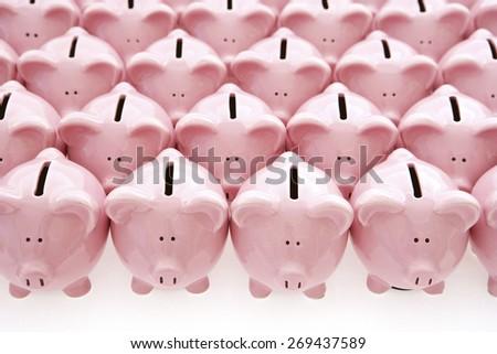 Piggy Banks - stock photo