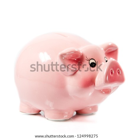 piggybank - stock photo