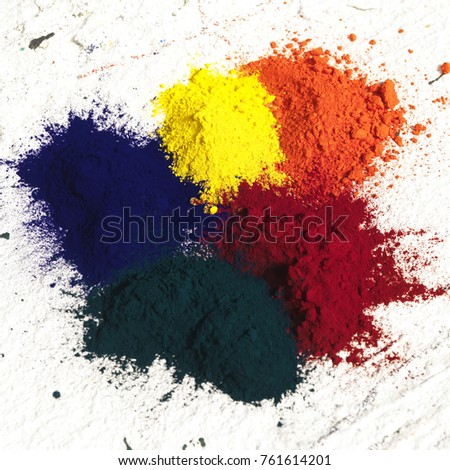 Pigment Coloring Paint Stock Photo 761614201 - Shutterstock