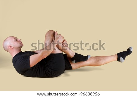 Pilates Position - Single Leg Stretch