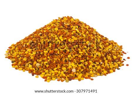 Pile of bee pollen, ambrosia - stock photo