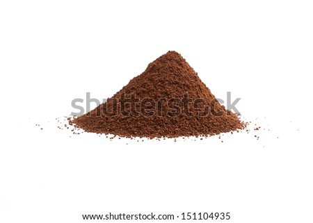 Pile of Coffee Beans Background.