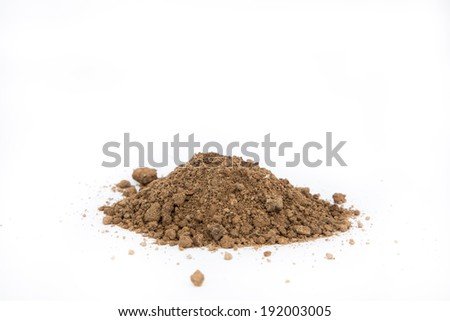 Pile of Dirt - stock photo