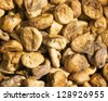 Pile of dried figs at farmers market in Turkey  - stock photo