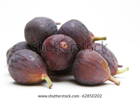 Pile of figs - stock photo