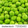 pile of pea seeds - stock photo