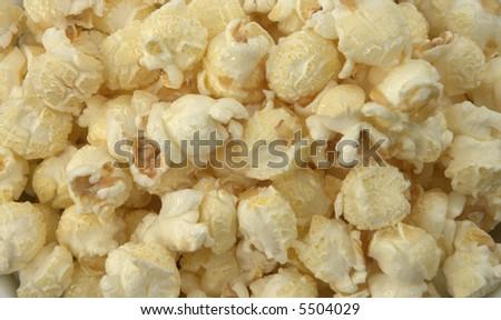 pile of popcorn - stock photo