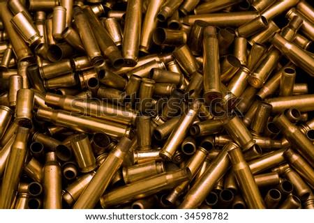 Pile of shells - stock photo