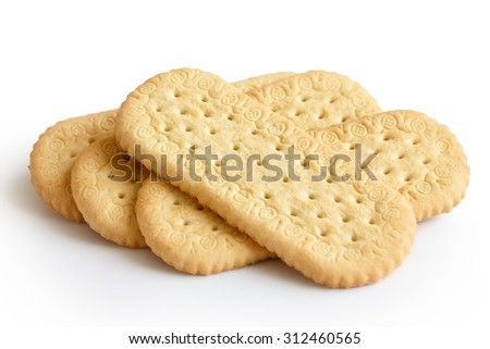 biscuits tea english rich traditional pile isolated shutterstock