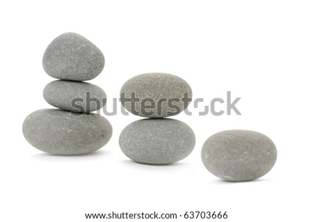 pile of zen gray stones