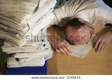 Piled high - stock photo