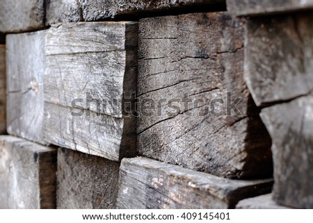 Piles of wood texture