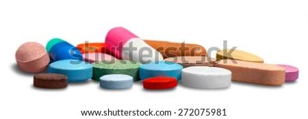 Pill, Capsule, Medicine. - stock photo