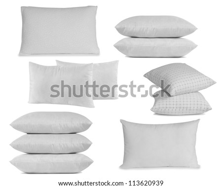 Pillow. - stock photo