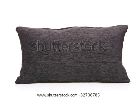 Pillow isolated against white background - stock photo