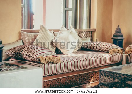 Arabic living room stock images royalty free images for Arabic living room decoration