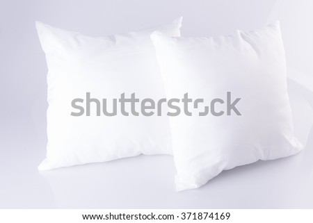 pillow. pillow on the background - stock photo