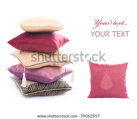 Pillows Set - stock photo