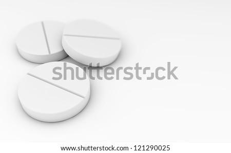 Pills concept - stock photo