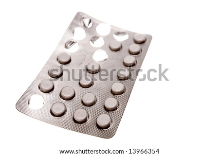 Pills in pack