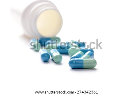 pills with bottle
