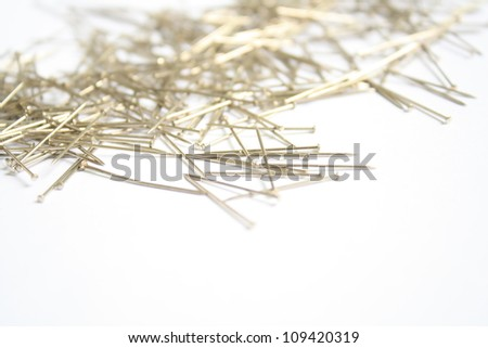 Pin - stock photo