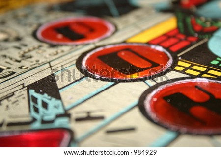 Pinball - stock photo
