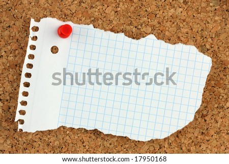 pinboard - stock photo