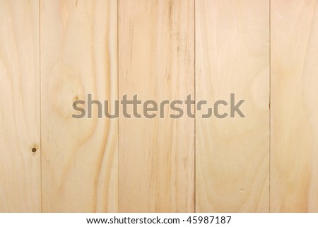 Pine boards for flooring - stock photo