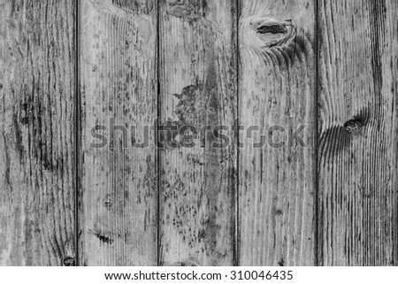 Pine Wood Planking, Bleached and Stained Gray, Grunge Texture Detail.