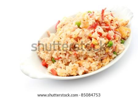Pineapple Fried Rice - stock photo