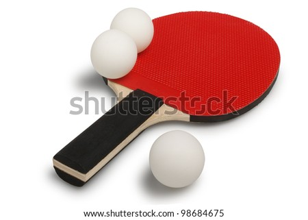 ping pong - stock photo