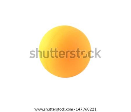 Ping pong ball. - stock photo
