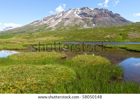 Pingmuli - Iceland - stock photo