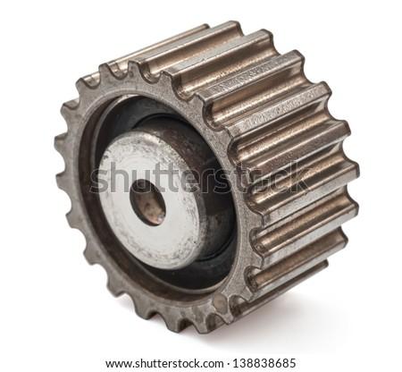 pinion gear - stock photo