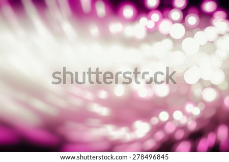 Pink abstract background holidays lights in motion blur image - stock photo